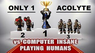 1 Acolyte UD vs HU Insane Computer | Warcraft 3