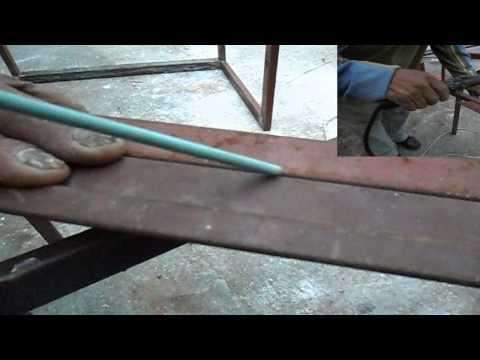 Hirutube c mo usar una m quina de soldar mig mag en - Como soldar hierro ...