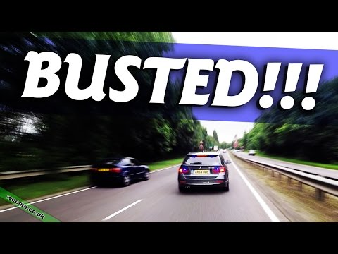 BUSTED!!! .... by unmarked police