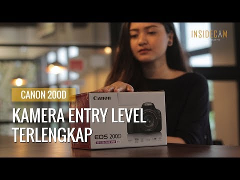 Review Canon Eos 200d - Review Indonesia