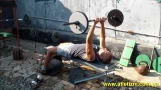 Пуловер: упражнение для груди(У нас Вы можете заказать индивидуальную программу тренировок по интернету: http://atletizm.com.ua/personalnyj-trener/uslugi ..., 2012-10-12T08:01:41.000Z)