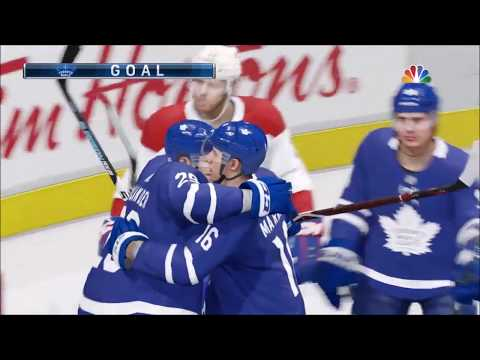 NHL 18 Toronto Maple Leafs vs Montreal Canadiens