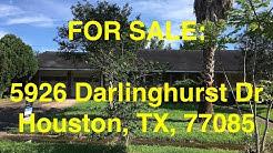 Houston HUD Homes -- HUD King tours 5926 Darlinghurst