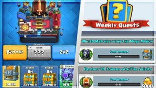 "New ""GAME MODE & QUEST!"" :: NEW OCTOBER UPDATE :: Everything We Know For Next Clash Royale Update!"