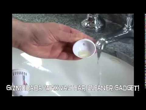 Gb134 Gizmobaba Waxvac Vacuum Ear Cleaner Gadget Youtube