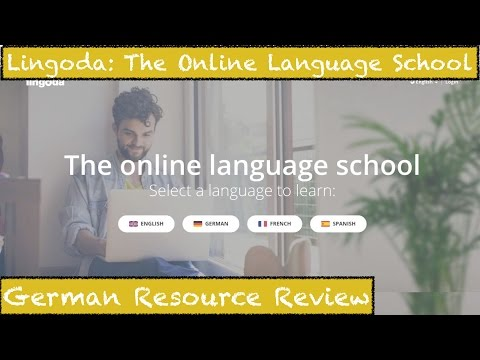 Lingoda: The Online Language School Review - German Learning Resource Review - Deutsch lernen
