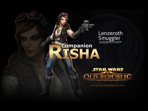 SWTOR: Smuggler - Risha Romance Conversations