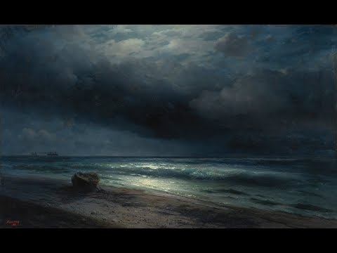 Tom Waits -- The Ocean Doesn't Want Me (Paintings by Ivan Aivazovsky) [eng, rus sub]