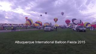 Albuquerque International Balloon Fiesta 2015 Time Lapse