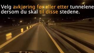 Statens vegvesen - E18 Kristiansand - Endret kjøremønster