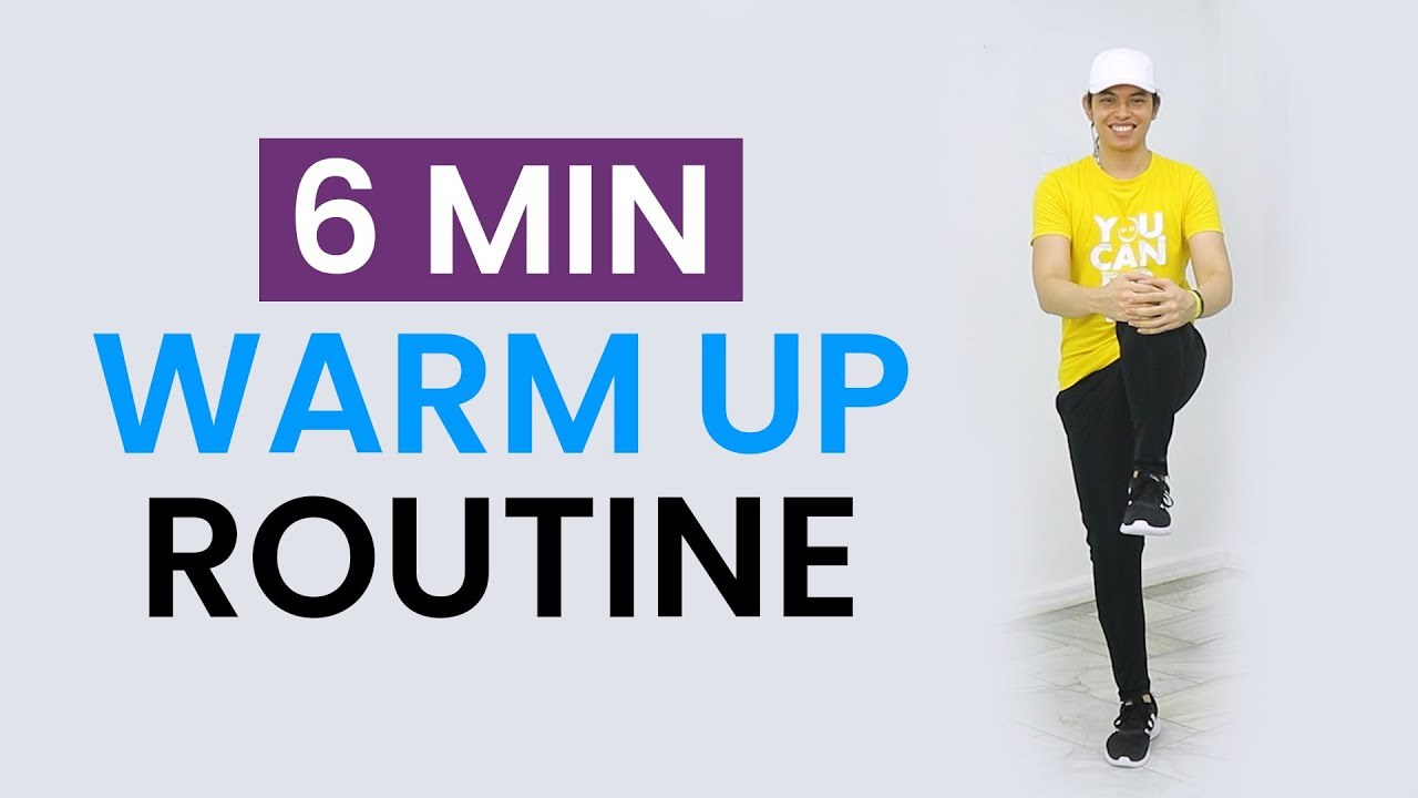 EASY 6 MIN WARM UP FOR AT HOME WORKOUTS  • Keoni Tamayo