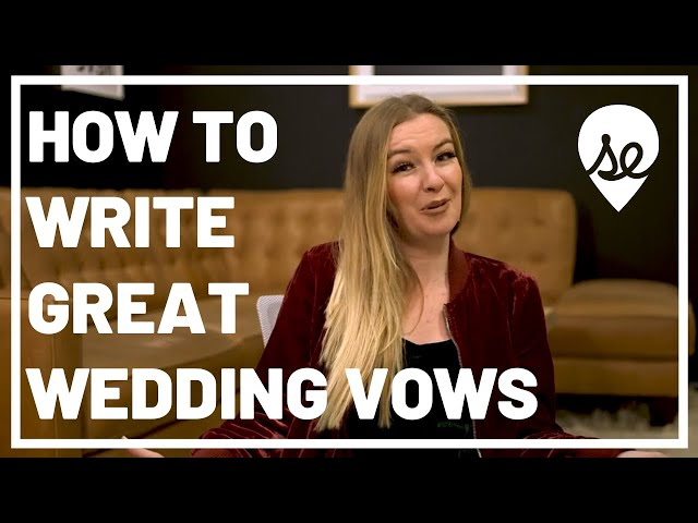 How to Write Great Vows for Your Wedding or Elopement: Our Top 10 Tips