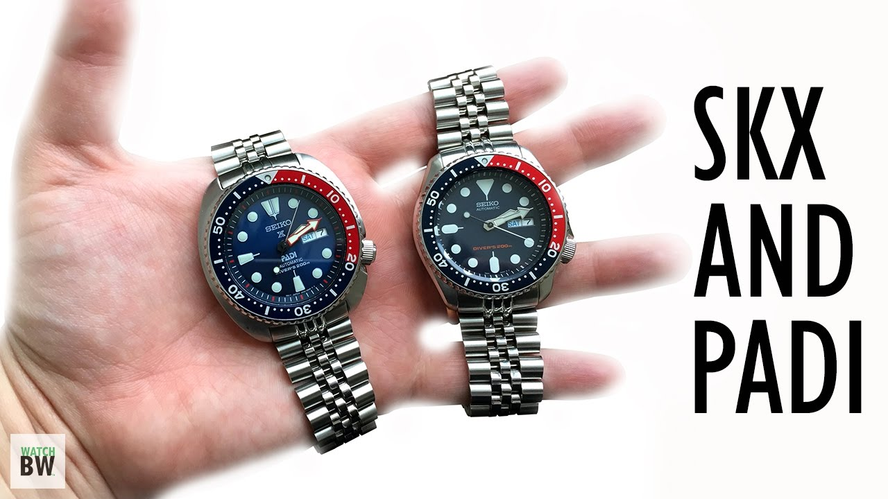 Seiko Skx And Padi Youtube