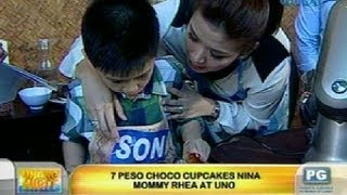 UH: Bonding sa baking nina Mommy Rhea at Uno