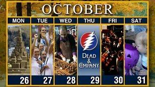 Calendar: Week of October 26