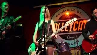 ZARA (BAND ) -LIVE NEW ORDER BLUE MONDAY (COVER) @ALLEYCATS 6 12 13