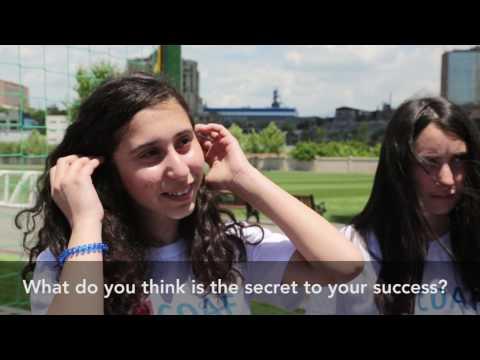 Henrikh Mkhitaryan Meets with Children in Armenia