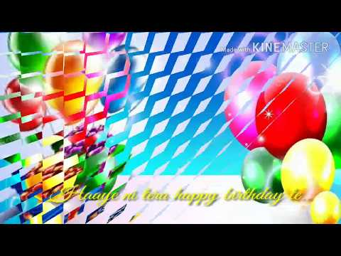 Happy birthday || Diljit Dosanjh || Disco Singh || Birthday Wishes || LYRICAL DUNIYA