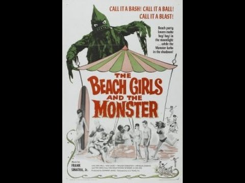 The Beach Girls And The Monster
