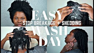NO MORE BREAKAGE OR EXCESS SHEDDING, THINNING DURING WASH DAY | Bubs Bee