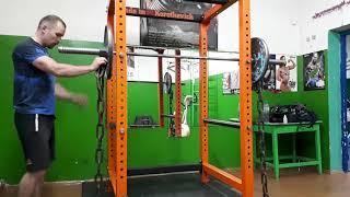 видео: Тренажерный зал своими руками! Силовая рама. Упражнения в силовой раме со штангой. (2 часть)