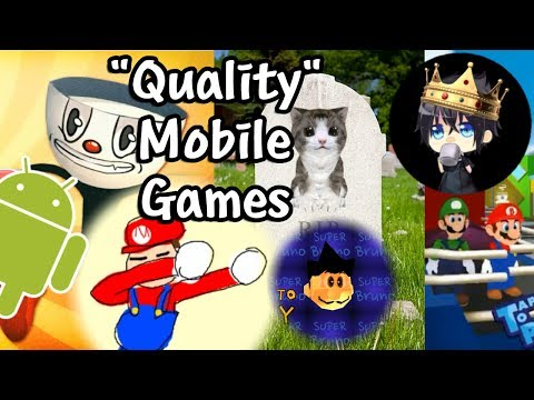 """[Vinesauce] Vinny - """"Quality"""" Mobile Games + Ads (Stream Highlights)"""
