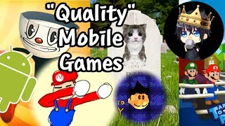"[Vinesauce] Vinny - ""Quality"" Mobile Games + Ads (Stream Highlights)"