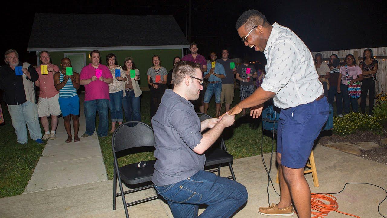 Gay wedding proposals