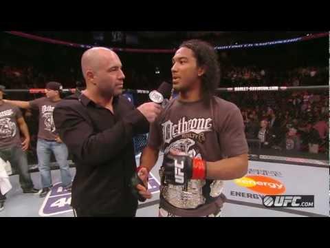 UFC on FOX 5: Benson Henderson Octagon Interview
