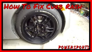 How To Fix Curb Rash - The Quick & Easy Way