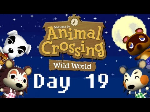 365 Days Of Animal Crossing: Wild World -Day 19- Fishing Tourney