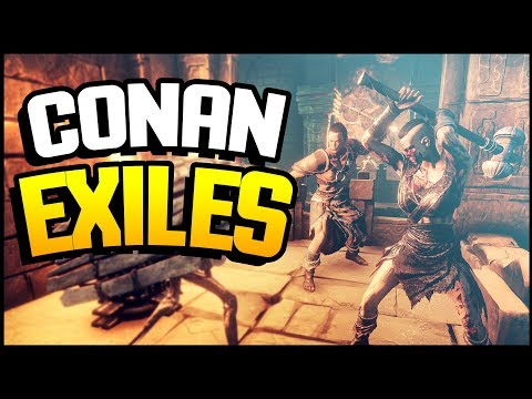 Conan Exiles - A BRAND NEW WORLD & NEW BEGINNING (Conan Exiles Gameplay)