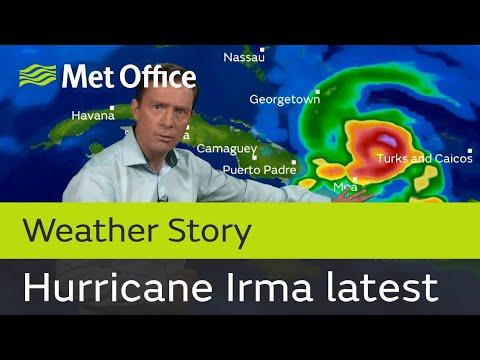 Dangerous hurricane Irma