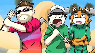 game breaking glitch golf with friends funny moments