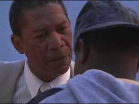 Morgan Freeman talks about Crack (Lean on Me)