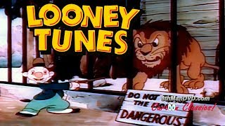 Looney Tunes Cartoon Classics: A Day at the Zoo (1939) (HD) | Tex Avery, Mel Blanc, Robert C. Bruce