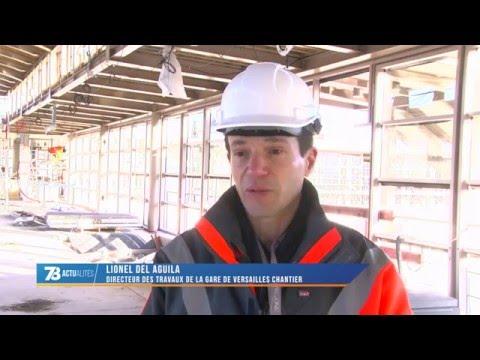 """Versailles : la gare """"Versailles Chantiers"""" fait peau neuve"""