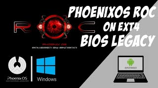 Phoenix os roc gaming version installation tutorial with review