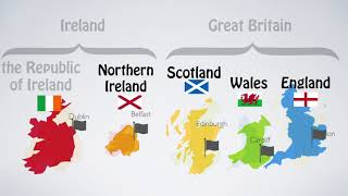 Countries In British Isles