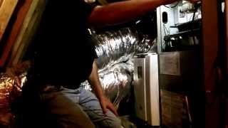 AprilAire 5000 Air Cleaner Install
