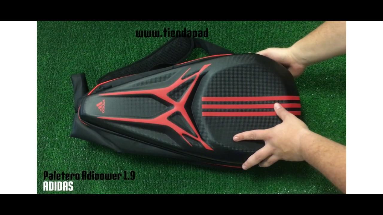 3acb10336 Paletero Adidas Adipower 1 9   Tienda Padelpoint - YouTube