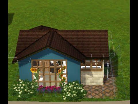 Sims 3 Tiny House Build Starter House Youtube