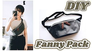 DIY Fanny Pack / Bum Bag // ボディバッグの作り方 / Costura Riñonera DIY / Sewing Tutorialㅣmadebyaya