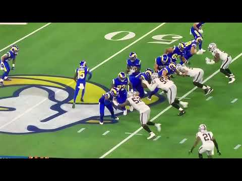Las Vegas Raiders Defense Gus Bradley Defensive Fundamentals On Display Vs Rams