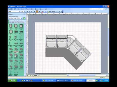 How To Use Fp1 Visio Shapes