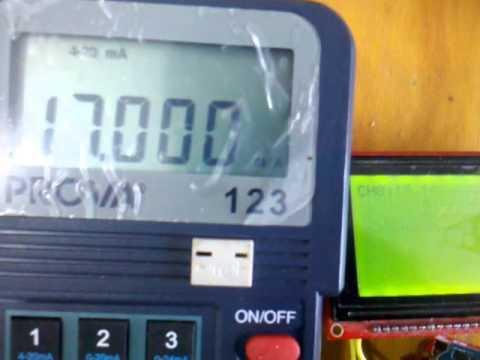 Test 4-20ma a 0-5V   //   Arduino leonardo