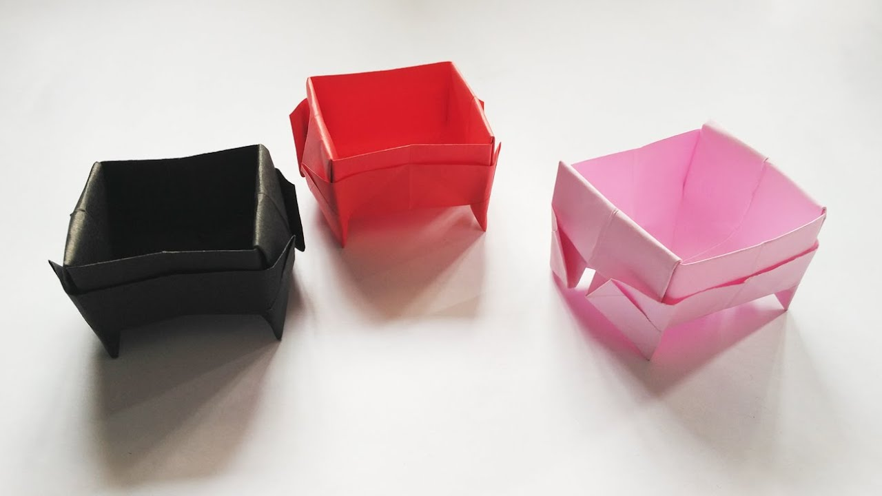Origami Basket Very Easy