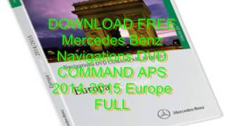 Download Mercedes-benz Navigation Dvd Comand Aps - softapiramsoft