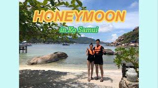 [VLOG] 신혼여행 브이로그(1/2) - 태국 코사무…