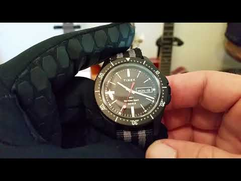 TIMEX/TODD SNYDER MS-1 Maritime Overview